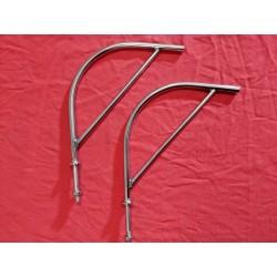 Harp Spiegelsteunen gepolijst RVS