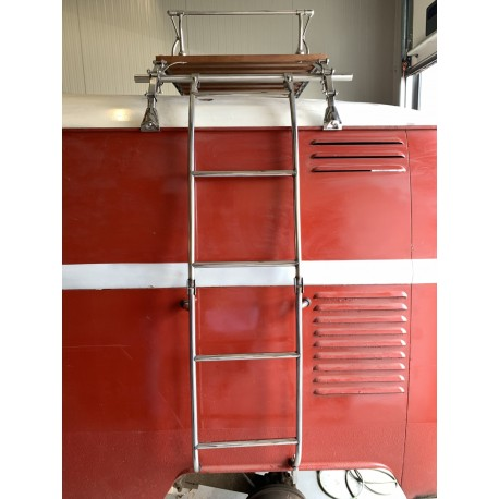 Bagagerek ladder RVS